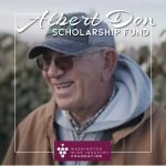 Albert Don Scholarship Fund with picture of Albert Don